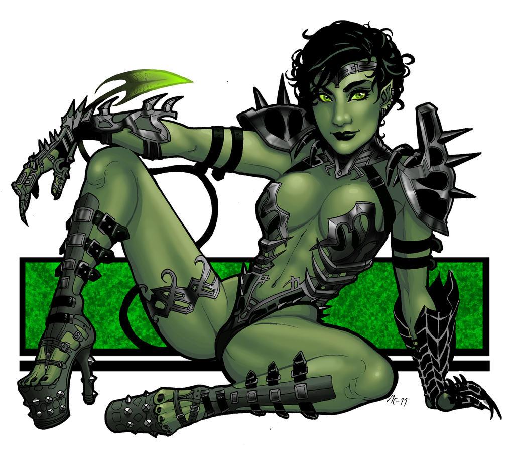 Goblin queen sexy porn pictures