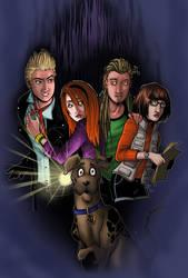 Scooby Doo: Spooky Forest by BleedingHeartworks
