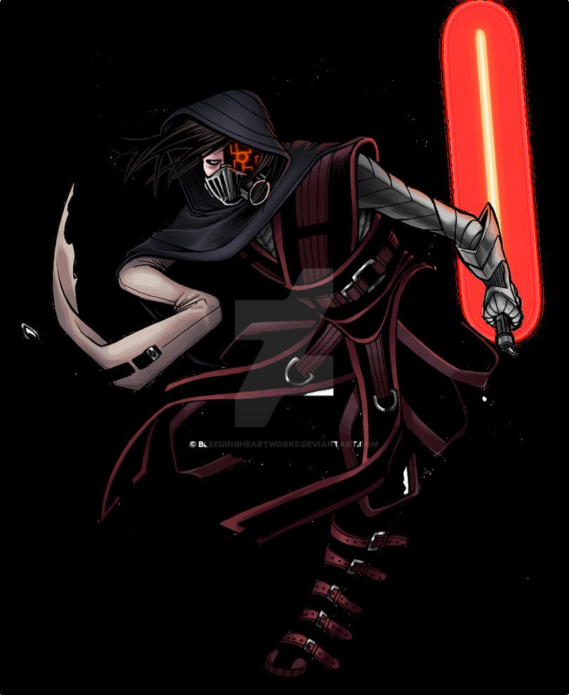Commission: Sith CreepyPastaJr by BleedingHeartworks