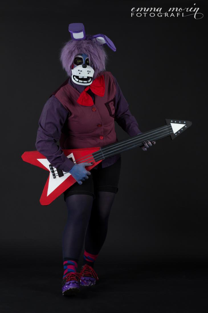 Cosplay: Bonnie The Bunny by BleedingHeartworks