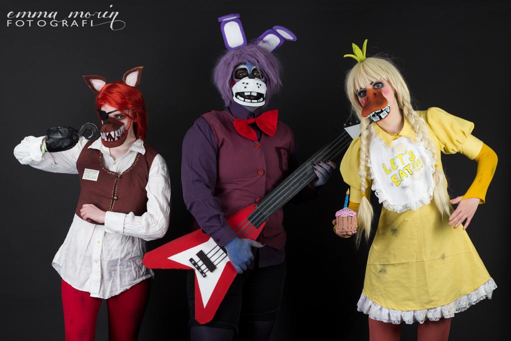 Cosplay: The Animatronics by BleedingHeartworks