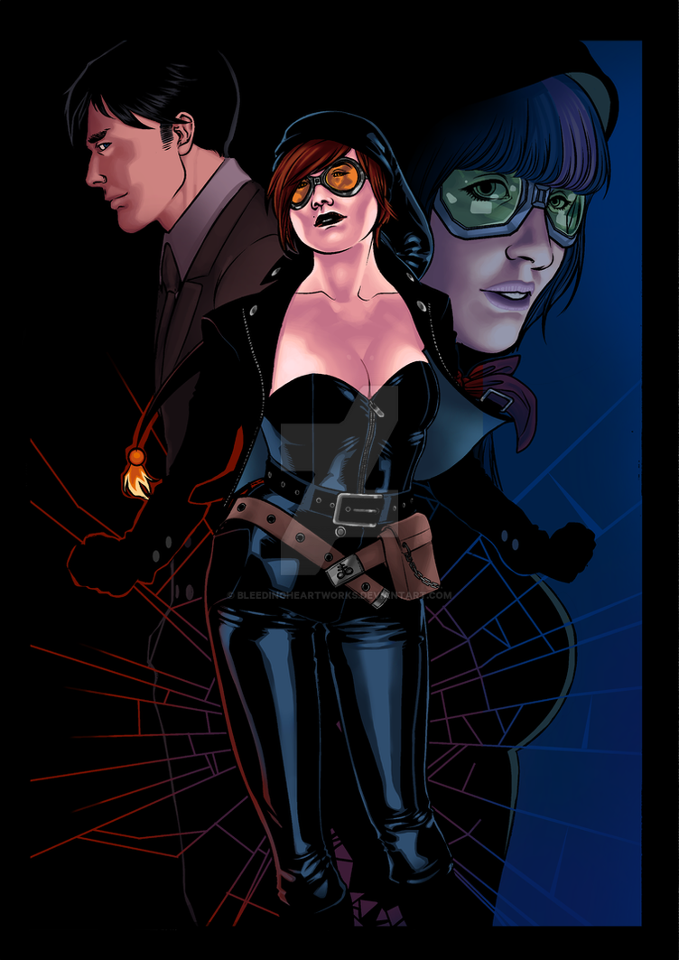 Commission: Cover for Devolution Comics by BleedingHeartworks