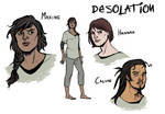[DESOLATION]: Character Concept Designs