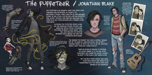 The Puppeteer NEW CHARACTER SHEET (2017)