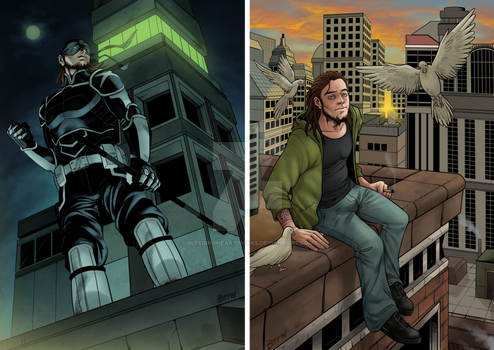 [Commission]: Night and Day