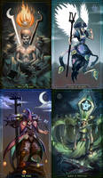 Tarot cards by Mikeypetrov