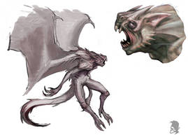 Creature test1 by Mikeypetrov