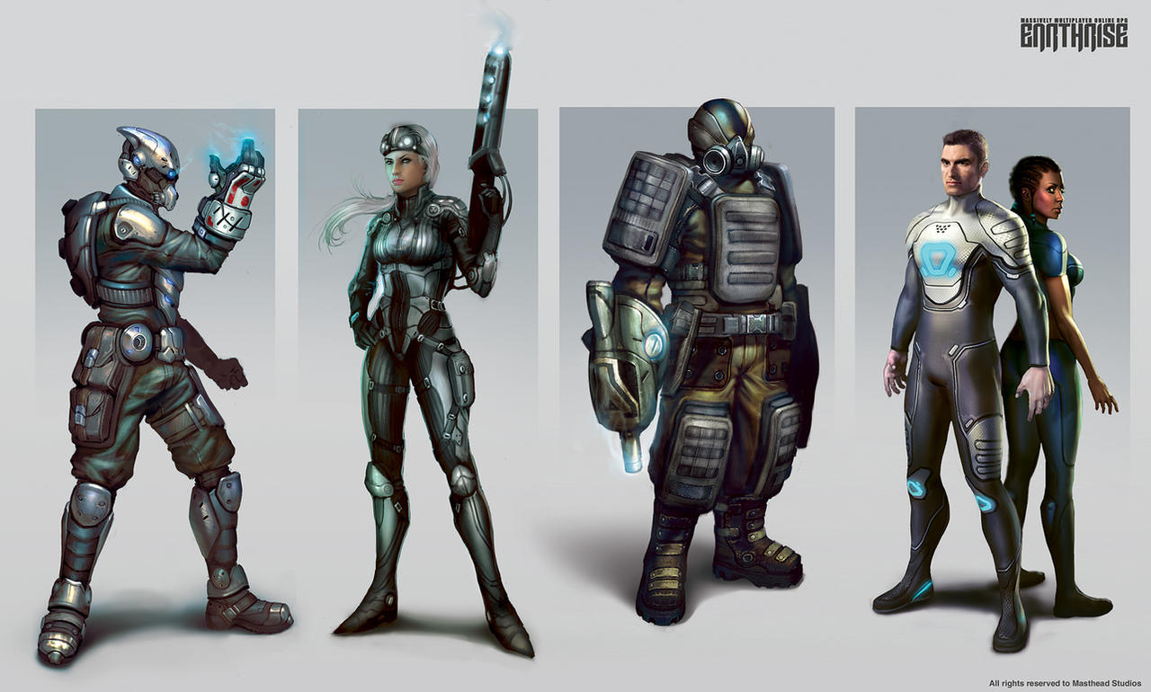 ER_Characters by Mikeypetrov