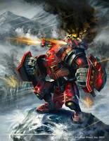Warmachine Wrath: Demolisher by Mikeypetrov