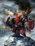 Warmachine Wrath: Demolisher