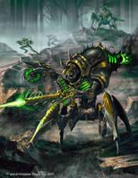 Warmachine Wrath: Desecrator by Mikeypetrov