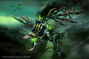 Warmachine Wrath: Scavanger by Mikeypetrov