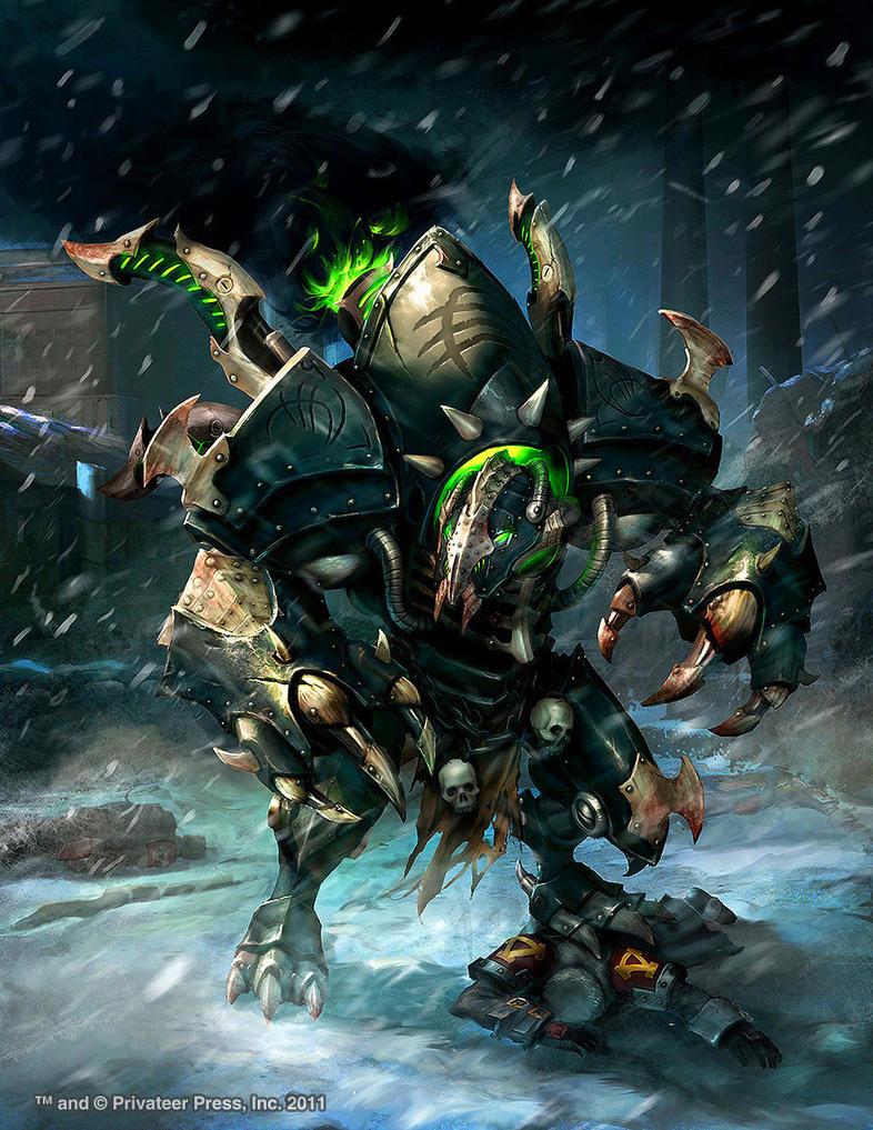 Warmachine Wrath: Erebus by Mikeypetrov