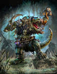 The Hordes Domination: Gatorman Witch Doctor
