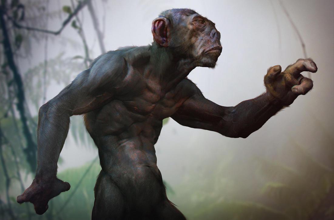 MonkeyMan by Mikeypetrov