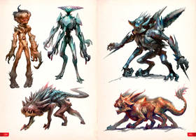 Art Of Miro Petrov - Creatures page by Mikeypetrov