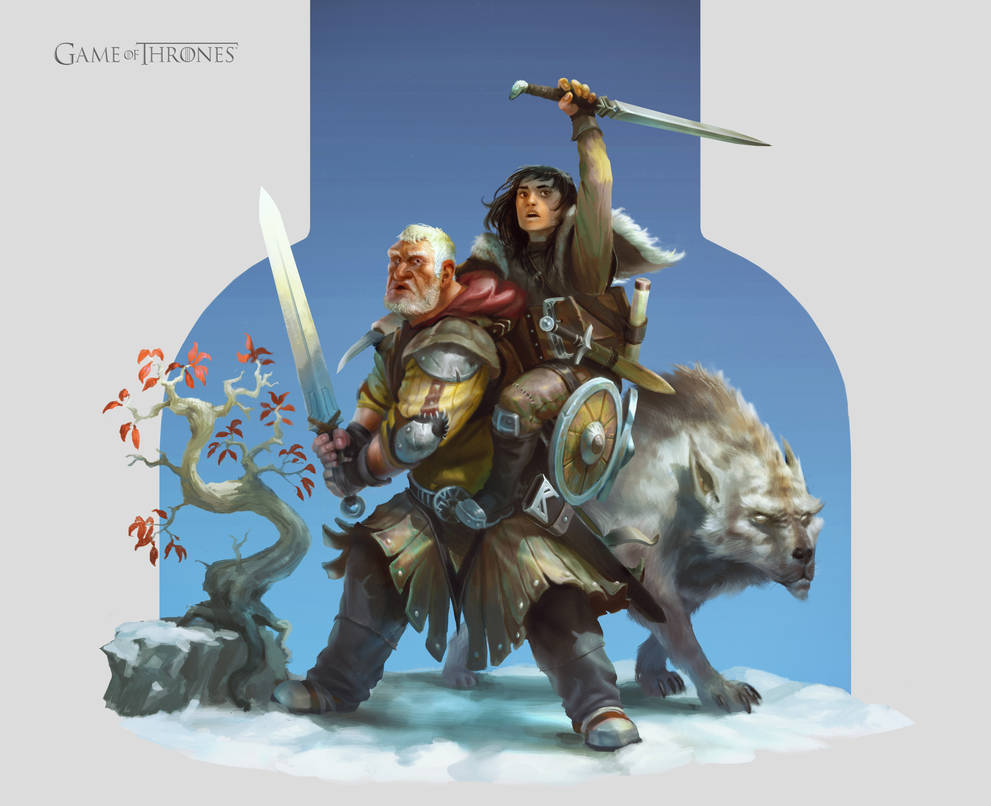 Hodor And Bran Game Of Thrones Fan Art By Mikeypetrov On Deviantart