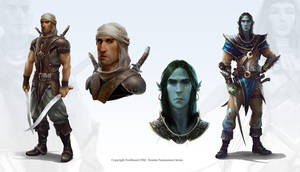Fantasy characters by Mikeypetrov