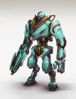 Multiplayer Arena: Robot concept