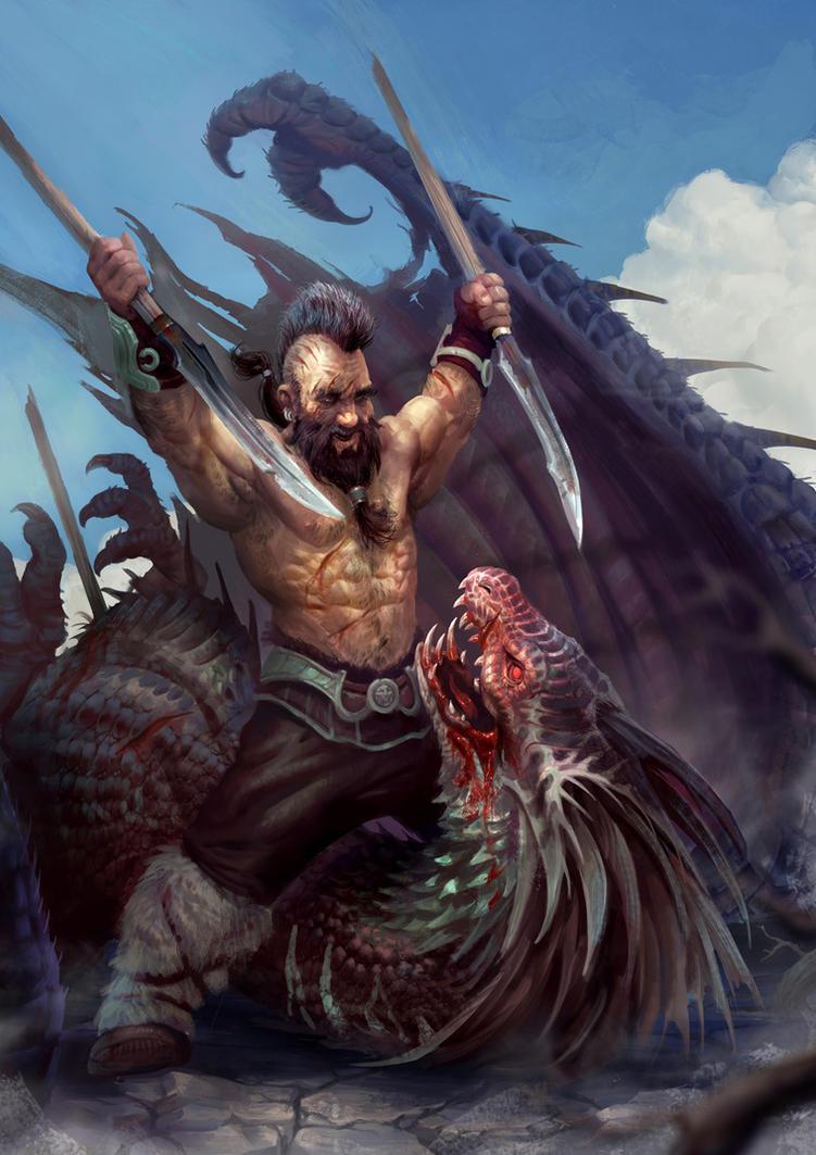 Dwarven revenge by Mikeypetrov