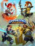 Brawlstar Legends: Promo Art by Mikeypetrov
