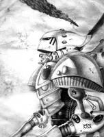 Eldar Titan by hybridyak