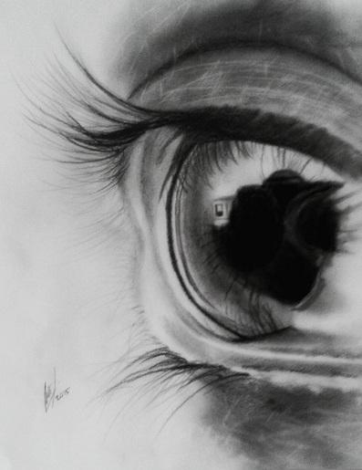 Eye drawing by rakhcy