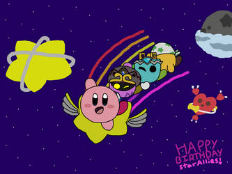 Happy Birthday Star Allies! by leaftini