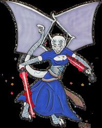 Knoll as Ventress by gidget-carol