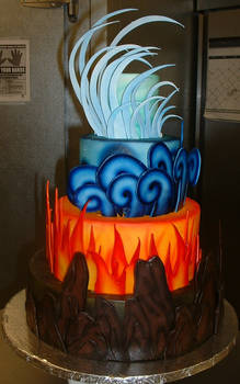 Last Airbender Cake