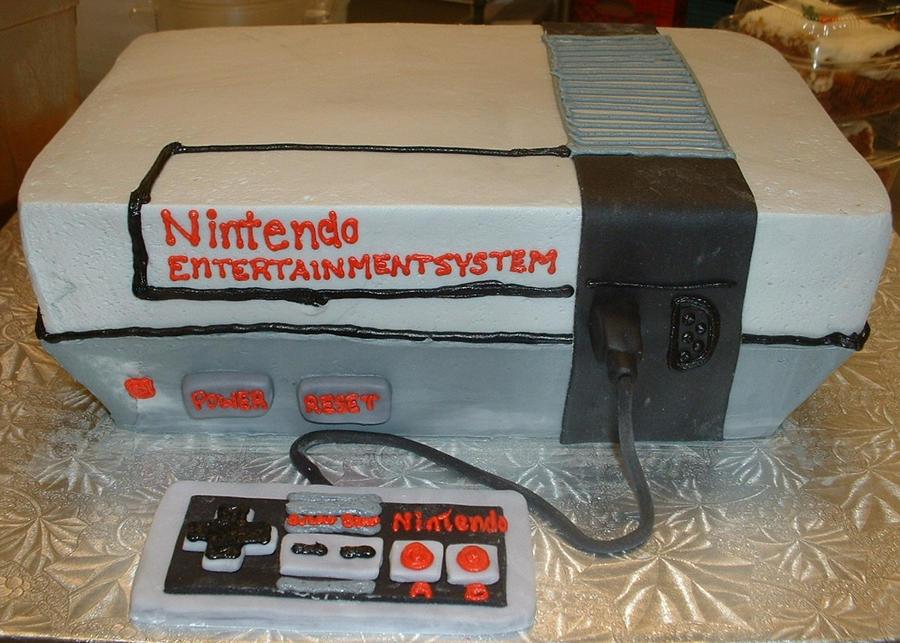 Nintendo Cake by Kahlan4
