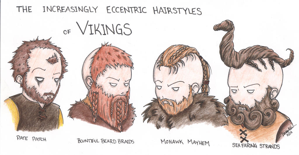Vikings Hairstyles by Kahlan4 on DeviantArt