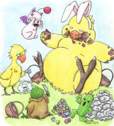 Final Fantasy Easter by Kahlan4