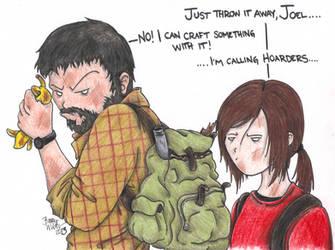 Joel has an addiction by Kahlan4