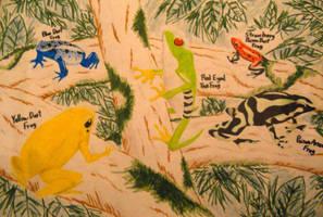 Poisonous Frogs by LionBolt369