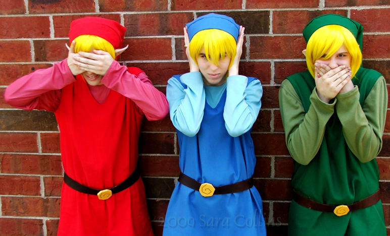 Link Four Swords Cosplay Four Swords Cosplay by...