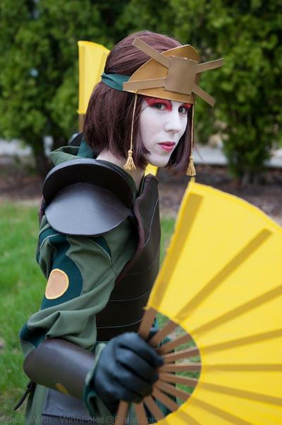 Kyoshi Warrior by thatbloodypirate