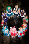 Sailor Scouts at CONvergence