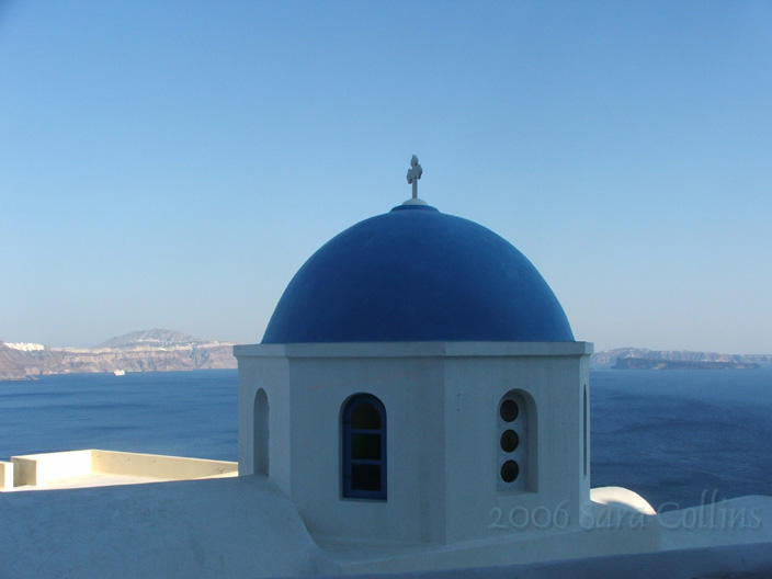 On Santorini by thatbloodypirate