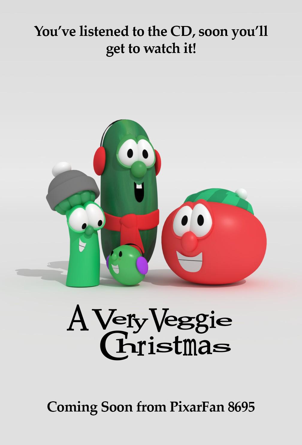 A Very Veggie Christmas.A Very Veggie Christmas Teaser Poster By Luxoveggiedude9302