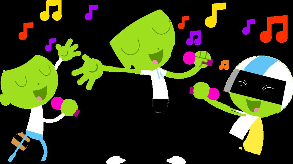 PBS Kids Digital Art - Singing Karaoke by LuxoVeggieDude9302 on
