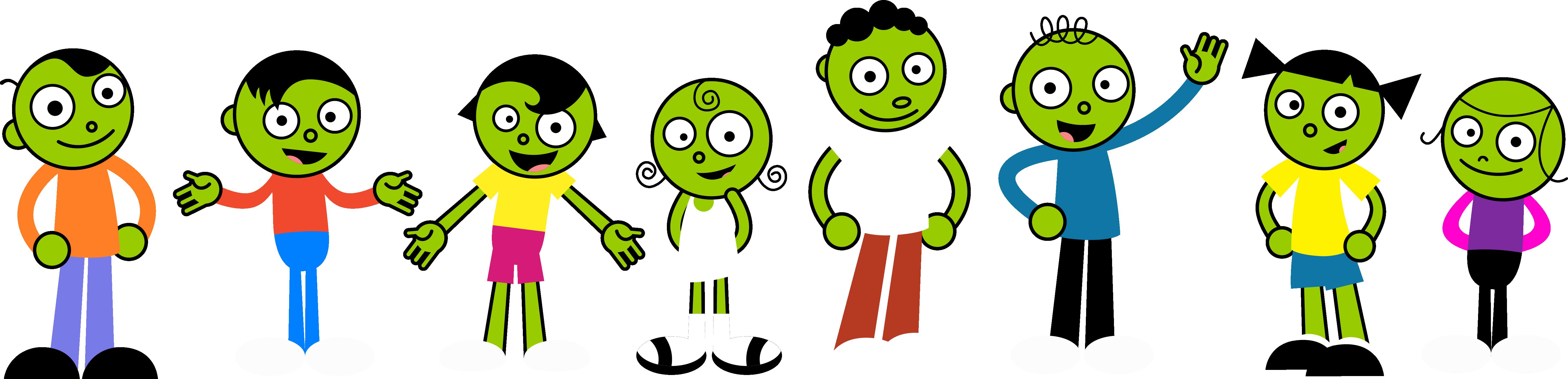 PBS Kids Digital Art - 1999 Characters by ...