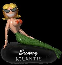 Sunny Atlantis (1989) Model Render by LuxoVeggieDude9302