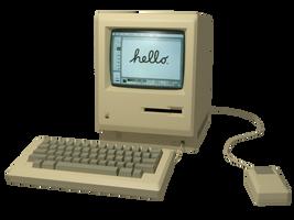 Macintosh 128K Model Render