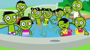 PBS Kids Selfie - Pool Party! (1999)