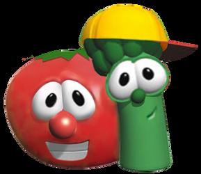 VeggieTales - Bob and Junior Vector