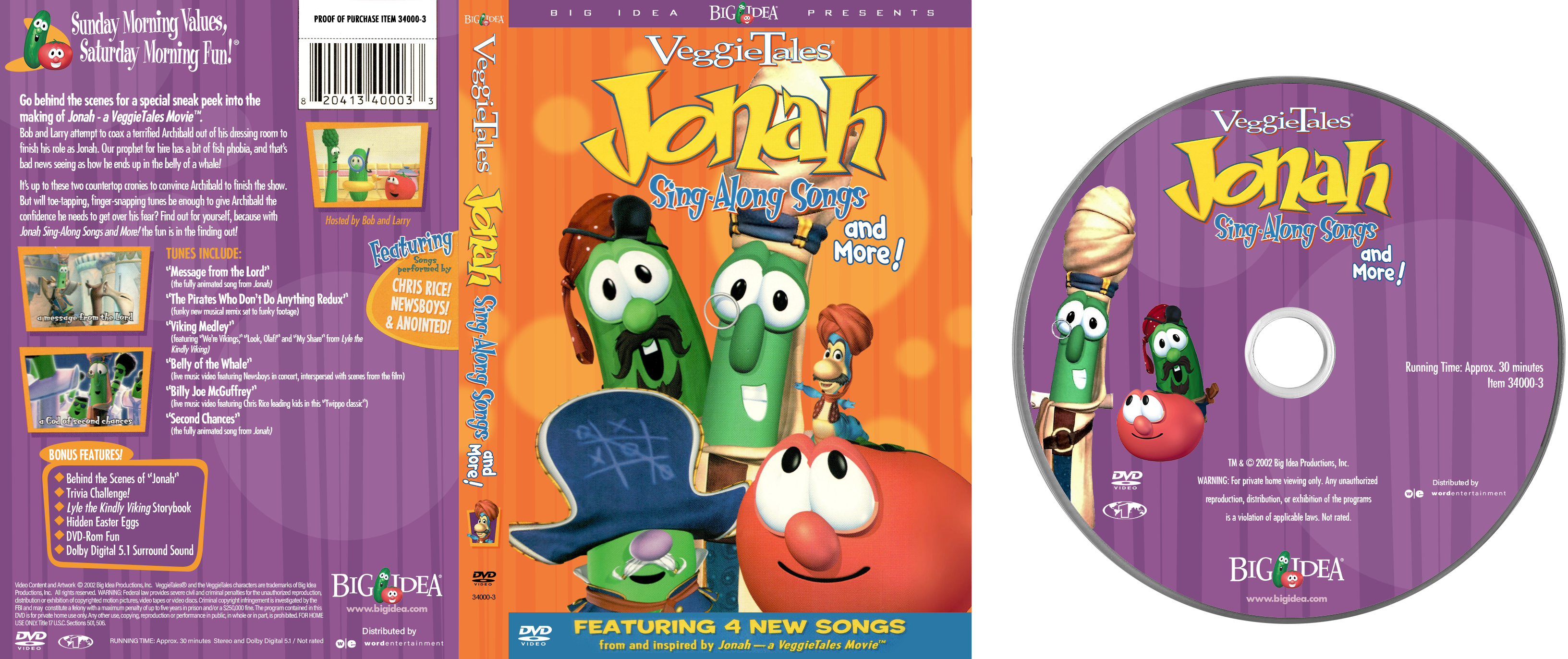 Veggietales Jonah Sing Along Songs And More Dvd By Luxoveggiedude9302 On Deviantart