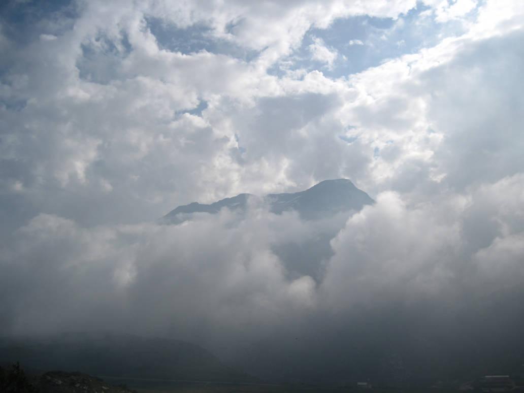 Cloudy Mountain by JVMN