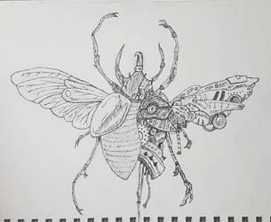 robotic bug by fridolf49
