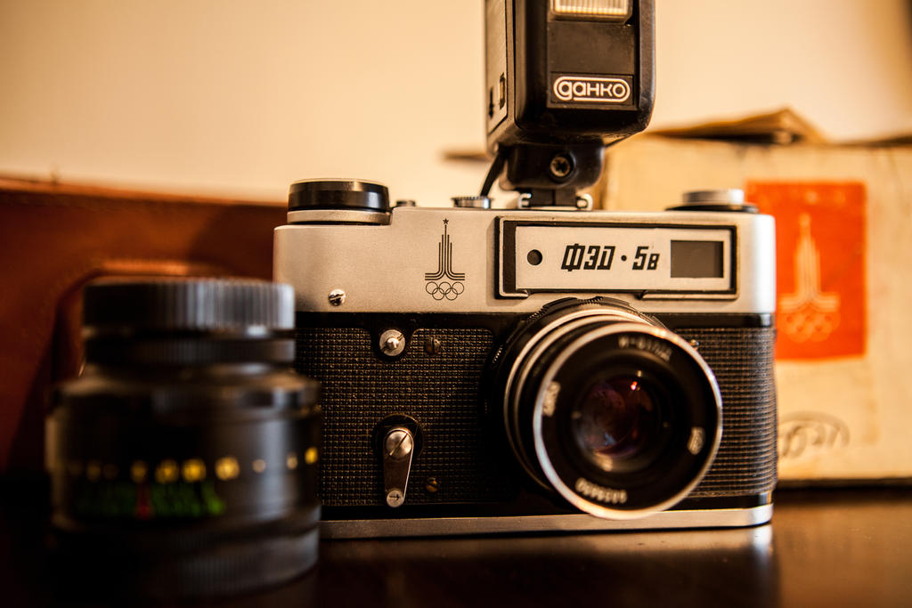 Fed 5B Soviet Camera by dmitrikalinin